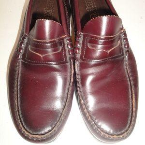 Dexter Deep Purple Leather Loafer